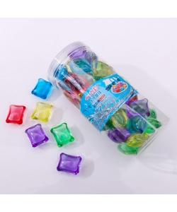 洗衣凝珠洗衣球洗衣膠囊-圓桶(50粒)